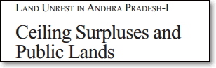 Land unrest in AP-I