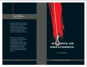 Of Capital and Other Punishments – Balagopal
