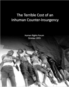 The Terrible Cost of an Inhuman Counter-Insurgency